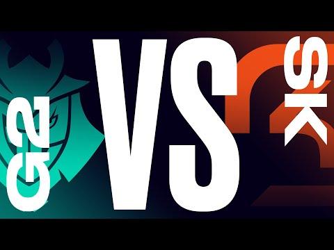 G2 Vs Sk Week 7 Day 1 Lec Summer Split G2 Esports Vs Sk Gaming 2021 Youtube