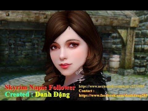 Skyrim Napie Follower – Game Mods Dispatch