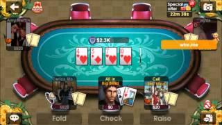 Dh Texas Poker - Mobile Game - Gameplay - Poker App - Android - Iphone - Windows