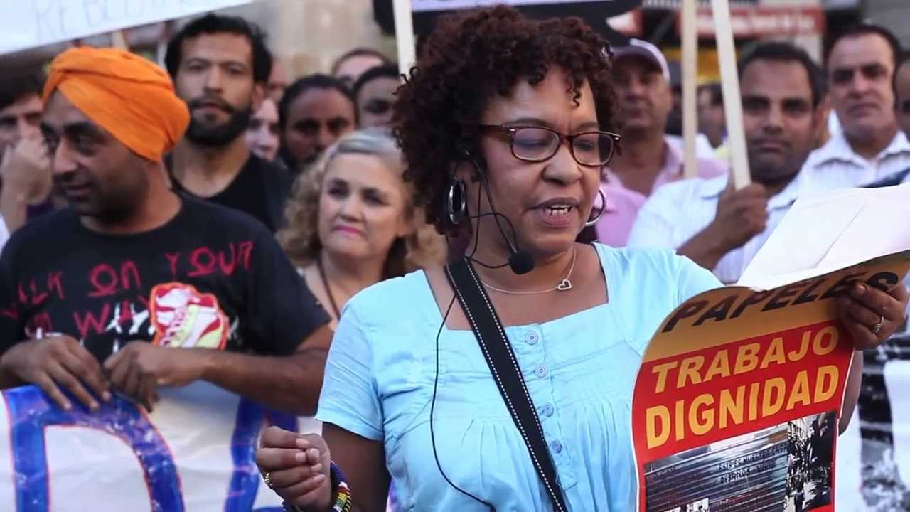 Concentraci n dignidad papeles vivienda trabajo 21 s for Trabajos en barcelona sin papeles