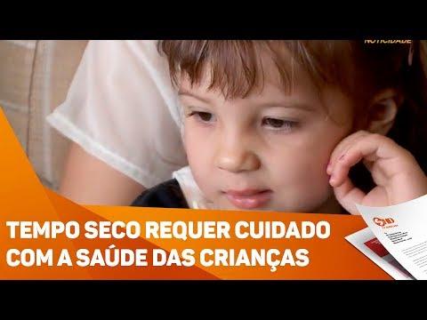 Tempo seco requer cuidado com a saúde das crianças - TV SOROCABA/SBT
