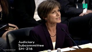 Ted Cruz Tried To Corner Sally Yates On The Law. He Failed.