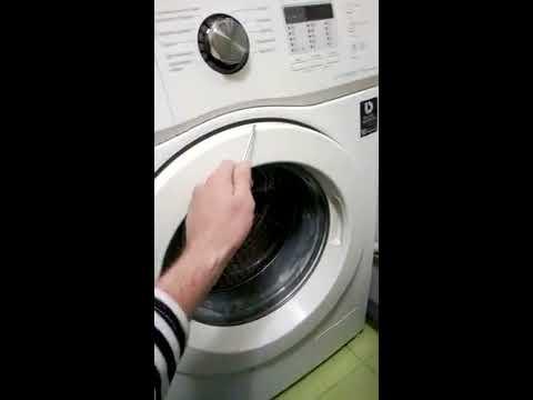 Как открыть дверь стиральной машины самсунг