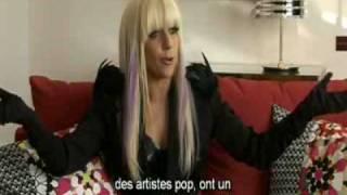 Lady GaGa, Yahoo! Music (France)