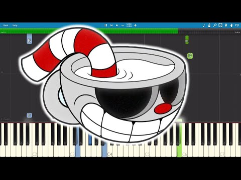 Cuphead Song  Brothers In Arms  Piano Tutorial  DA Games