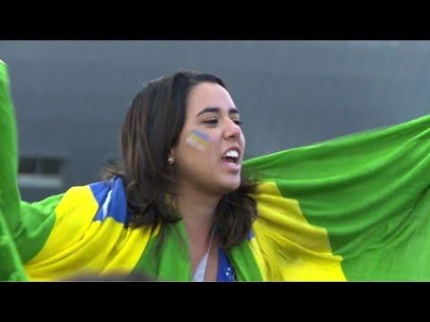 Mondial-2018: réactions des supporters après Brésil-Costa Rica