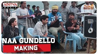 Naa Gundello Making MAJILI Songs Naga Chaitanya Samantha Divyansha Kaushik