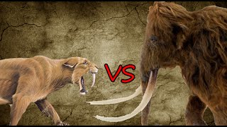 Saber-Toothed Tiger Pride vs Woolly Mammoth | SPORE