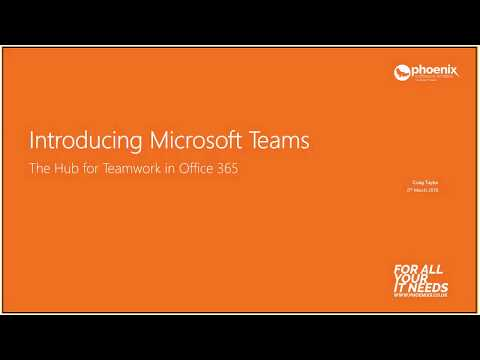 Microsoft Teams for Education - 06 March 2018