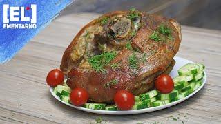 Вкусное Запеченное Мясо В Мультиварке Свиной Окорок Рецепт Запеченного Мяса  Рецепт для Мультиварки