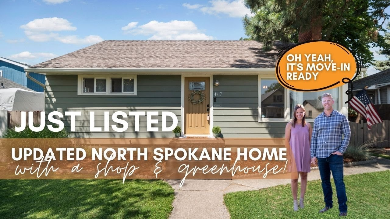 For Sale | Updated North Spokane Home + SHOP