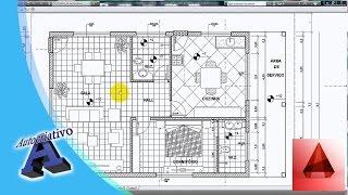AutoCad 2014 - Aula 01/29 Planta Baixa - Autocriativo