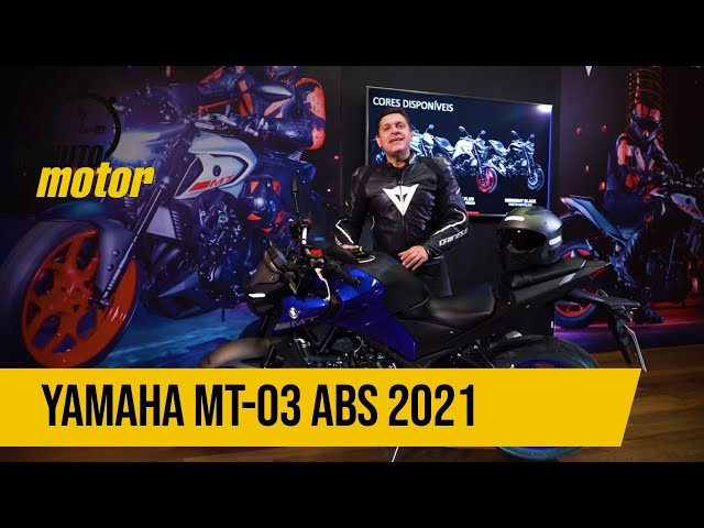 YAMAHA MT-03 ABS 2021: CONHEÇA TODOS OS DETALHES