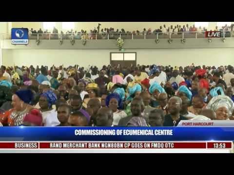 Commissioning Of Ecumenical Center Pt. 4