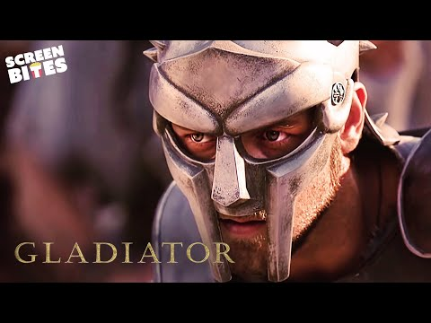 Gladiator  His Name Is Maximus!  Russell Crowe and Joaquin Phoenix