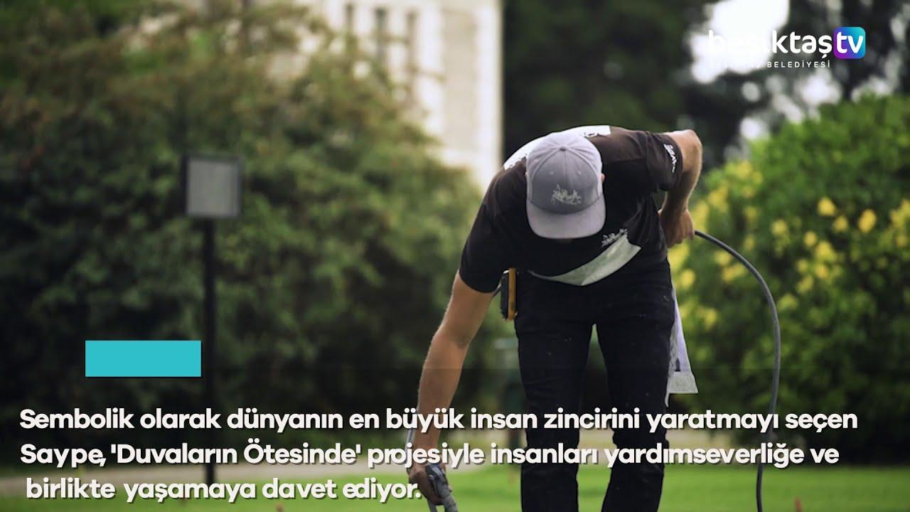 Saype'nin 'Duvarların Ötesinde' Projesi İstanbul'da Start Aldı!
