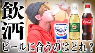 """【飲酒】酒嫌いが本気で""""ビールの美味しい飲み方""""を模索した結果...【ビアカクテル】"""
