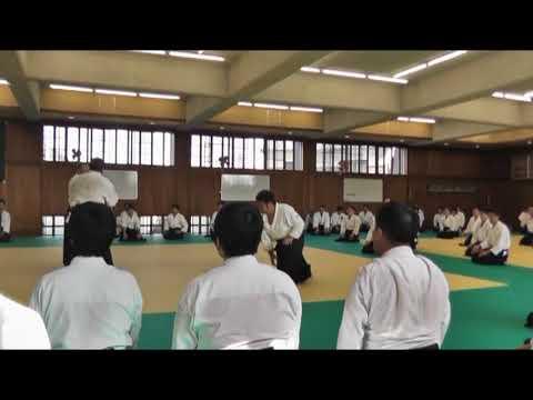 IWAMA STYLE AIKIDO  Okayama Aiki Shuren Dojo H29.10.8