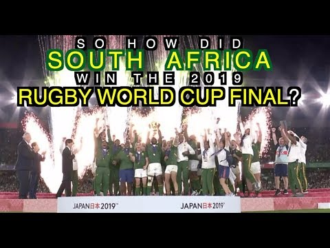 So How Did South Africa Win The Rugby World Cup Final? | The Squidge Report