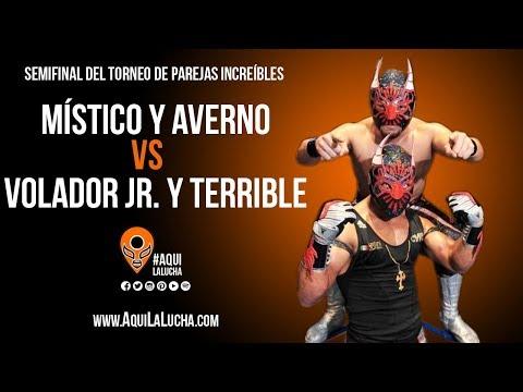Místico y Averno vs Volador Jr. y Terrible. Aquí La Lucha
