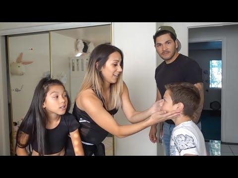 TXUNAMY GETS HER BELLY PIERCED PRANK ON DAD!! | Familia Diamond