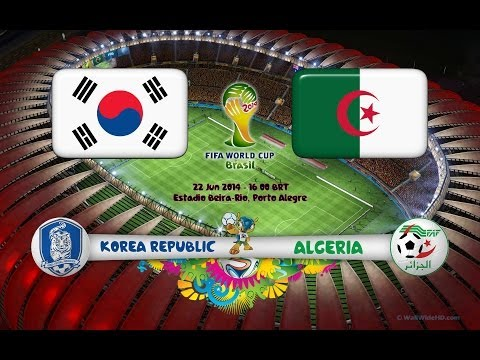 World cup 2014 Korea vs Algeria