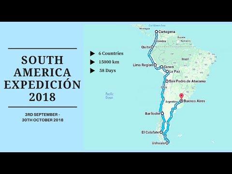 SOUTH AMERICA EXPEDICIÓN 2018!