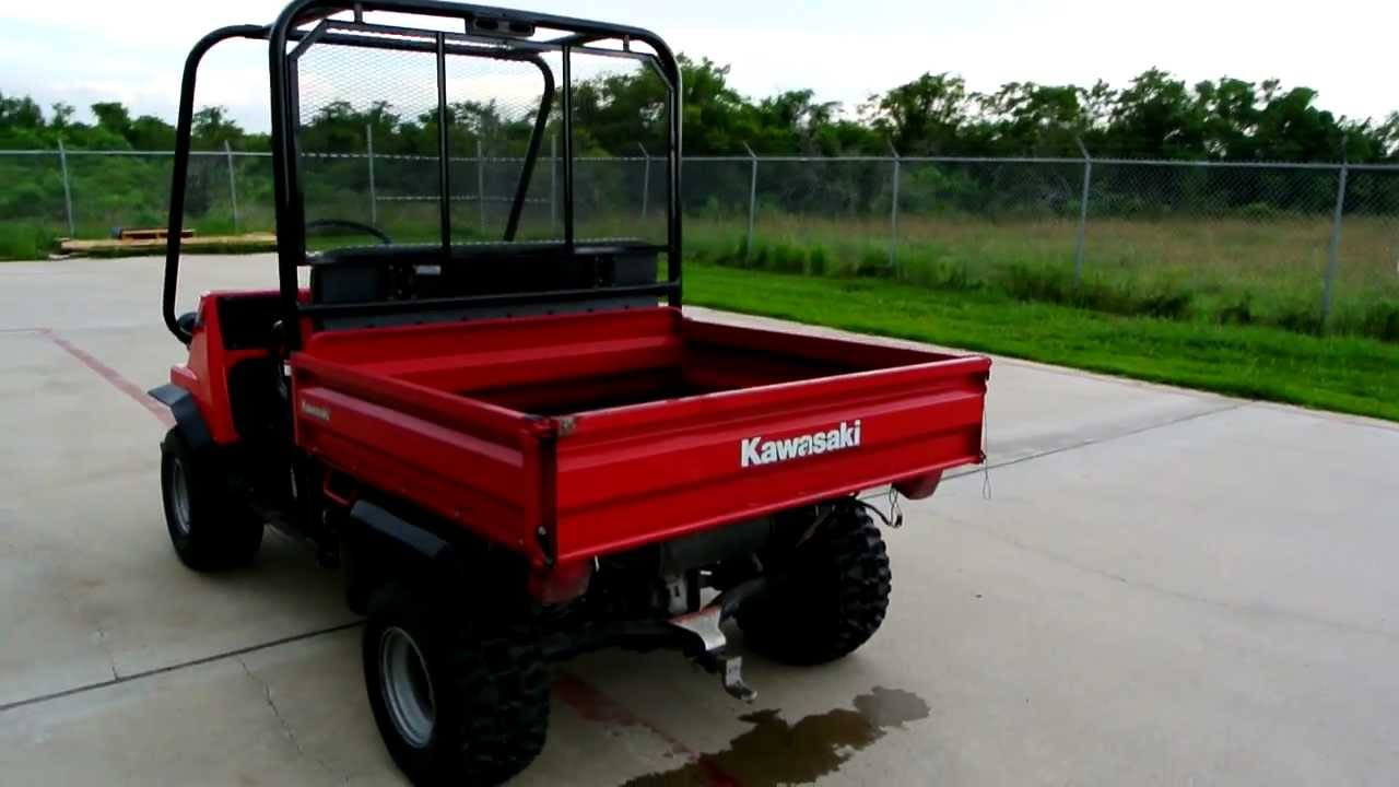1998 Kawasaki Mule 2500 4X2 - YouTube