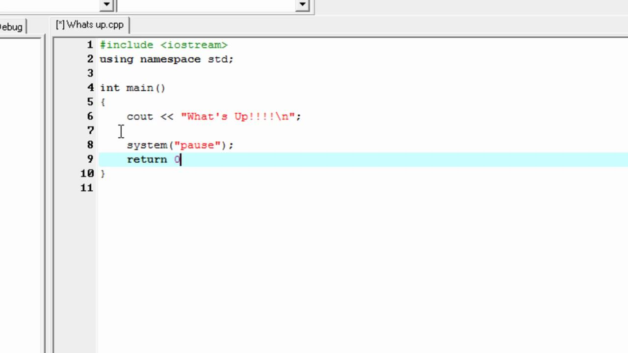 best c programming tutorial hello world the easy way