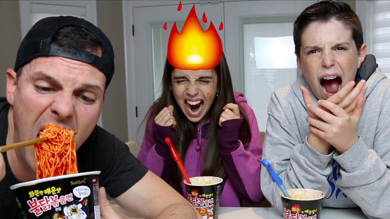 Korean Fire Noodle Challenge