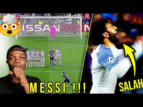 Download LEGENDARY REACTION TO LIONEL MESSI GOALS AND SKILLS • REACTION!