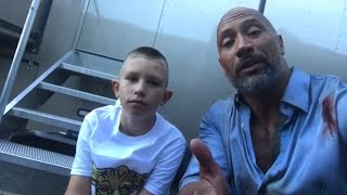 'The Rock' Has a Message for 10-Year-Old Who Saved Little Brother From Drowning