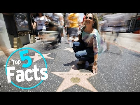 Top 5 Facts About The Hollywood Walk Of Fame