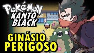 Pokemon Kanto Black (Detonado - Parte 11) - Ginásio Fora de Época do Koga