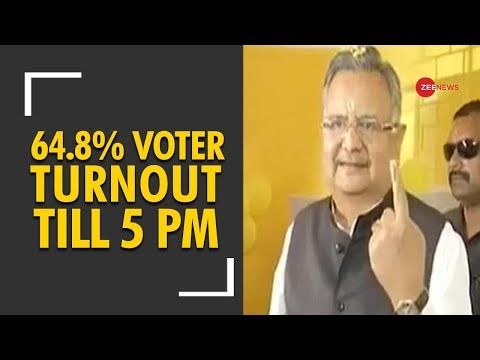 Deshhit: 64.8% voter turnout recorded in 2nd phase of Chhattisgarh elections