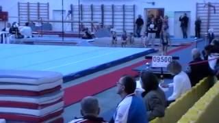 Фабрикова Варвара, спортивная гимнастика, программа 1-го юношеского разряда, опорный прыжок.
