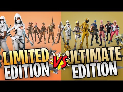 FORTNITE - Everything You Get From The Limited And Ultimate Editions In Save The World