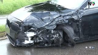 07.06.2017 Schwerer Verkehrsunfall im Begegnungsverkehr bei Nürtingen