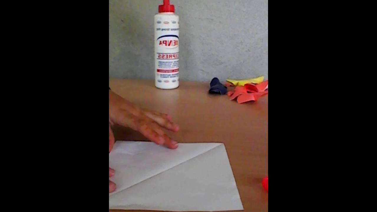 Gazete Kağıdından Nasıl Kelebek Yapılır