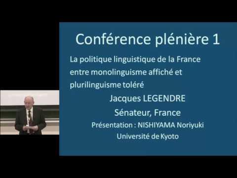 20101106-07 Kyoto University International Conference 19, Jacques LEGENDRE (Sénateur, France)