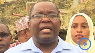National Museum of Kenya defy Hassan Joho's order on construction of a seawall