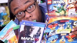 BLACK FRIDAY VIDEO GAMES HAUL 2016 - Nintendo, PS4, Xbox