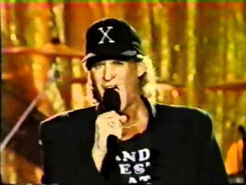 "Randy West singing ""We put the X in Sex"" at the 1993 AVN Awards"
