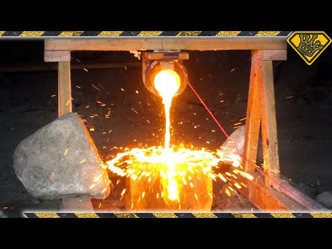 The Ice Experiments: Molten Copper