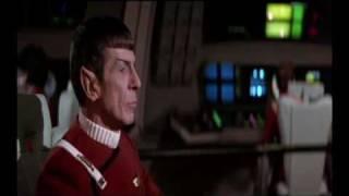 Star Trek II Enterprise Leaves Spacedock