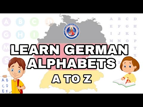 GERMAN | LET'S LEARN GERMAN ALPHABETS A TO Z | |#Germany #ForeignLanguage #SMGES
