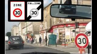 La circulation 2 : limitation de vitesse