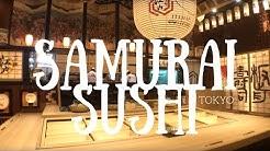 Samurai Sushi in Tokyo