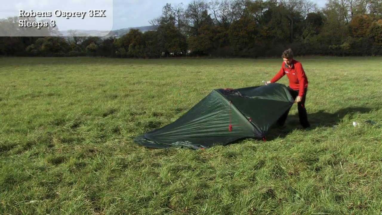 & Robens Osprey 3 EX - Tent Pitching Video - YouTube