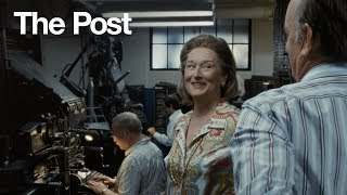 "The Post | ""#1 Movie of the Year"